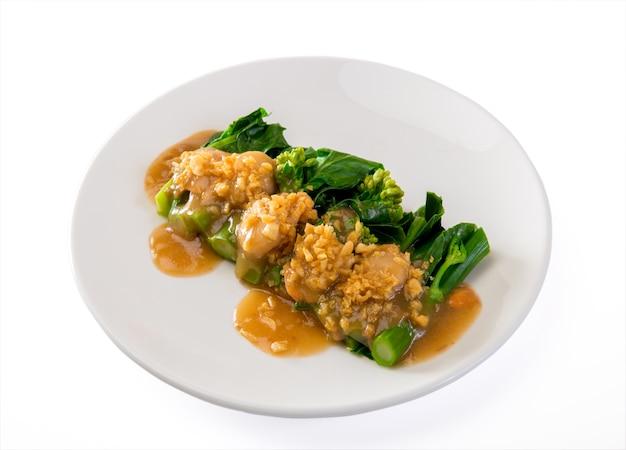 Brócolis chinês frito em molho de ostra