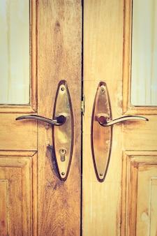 Bronze entrada punho botão casa