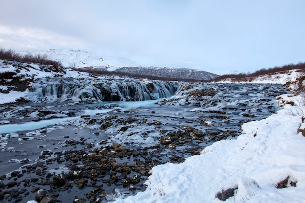 Bruarfoss, cachoeira da islândia