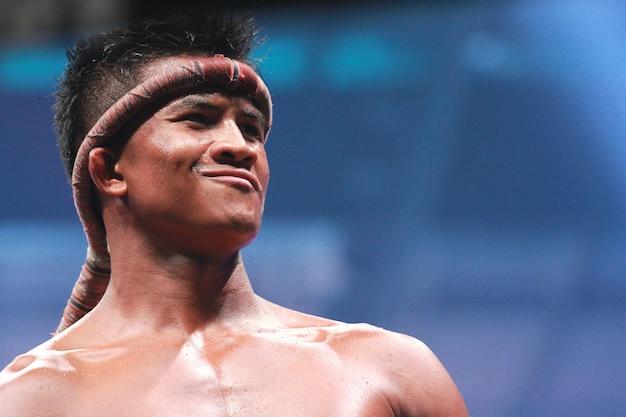 Buakaw banchamek, boxe tailandês de classe mundial