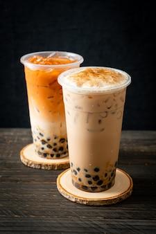 Bubble tea, boba ou chá com leite de pérola