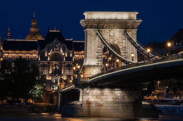 Budapest danube river bridge parlament hungria