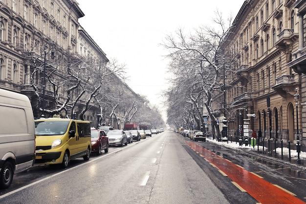 Budapeste no inverno