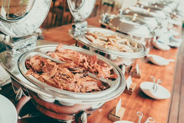 Bufete catering