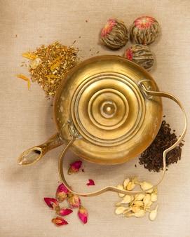 Bule de chá velho