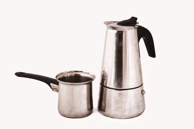 Bules clássicos de café turco