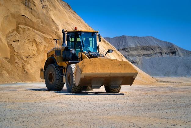 Bulldozer de esteira, equipamento de movimentação de terra