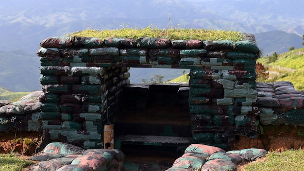 Bunker saco de areia