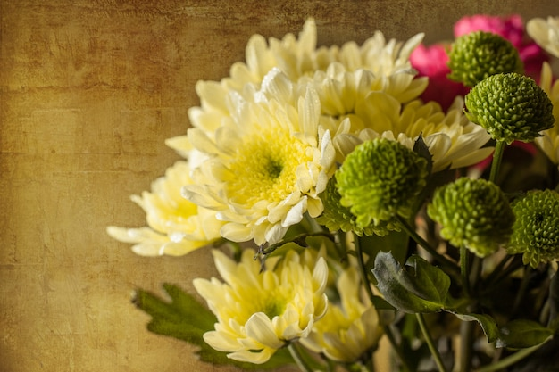 Buquê de flores amarelas