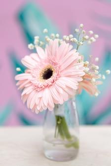 Buquê de flores rosa linda primavera