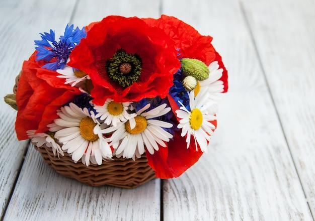 Buquê de flores silvestres