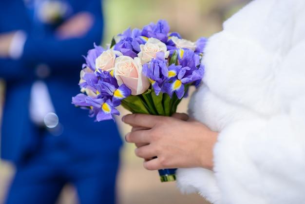 Buquê de noiva. buquê de casamento para a noiva.