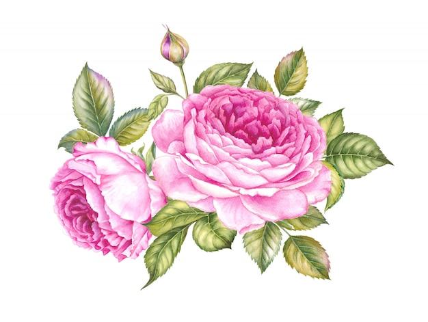 Buquê de rosa.