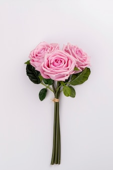 Buquê rosa close-up