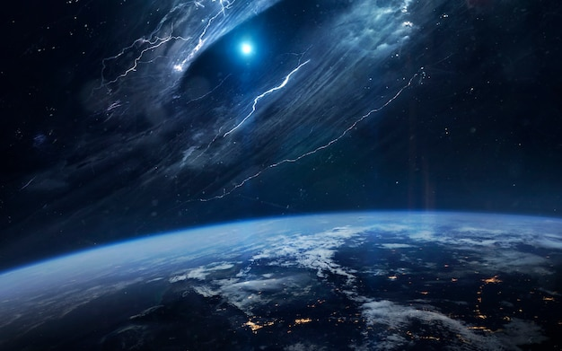 Buraco de minhoca no espaço