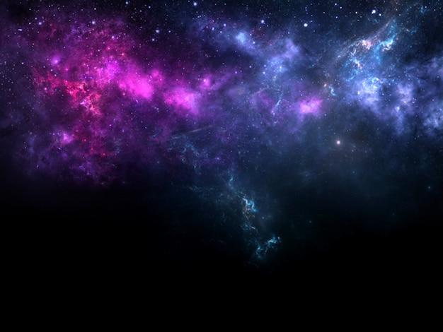 Buraco negro planetas e galáxia papel de parede de ficção científica beleza do espaço profundo bilhões de galáxias no universo fundo da arte cósmica imagem vertical para o fundo do smartphone