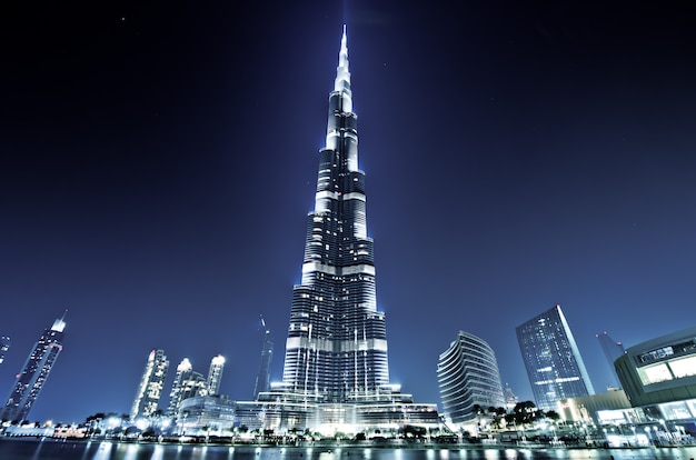 Burj khalifa, burj dubai, dubai, emirados árabes unidos