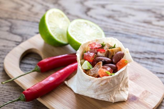 Burrito de galinha