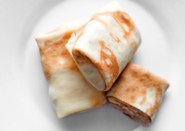 Burritos grelhados