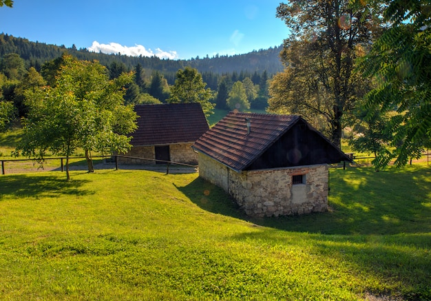 Cabana de montanha, eslovénia