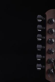 Cabeça de colheita da guitarra elétrica
