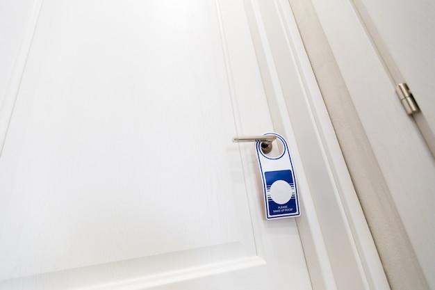 Cabide de sinal de porta - por favor, faça o meu quarto