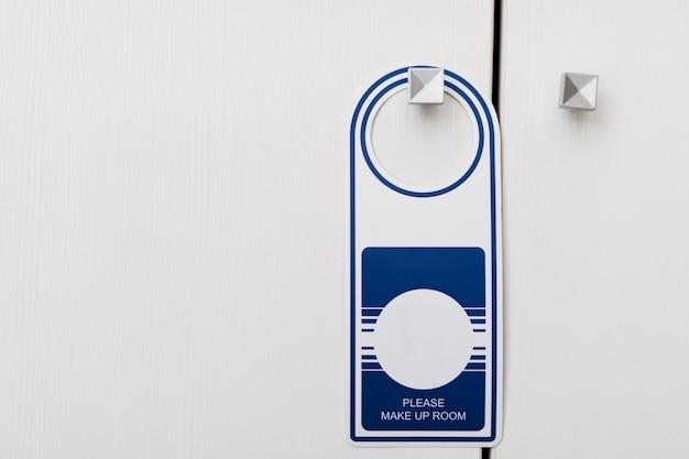 Cabide de sinal de porta
