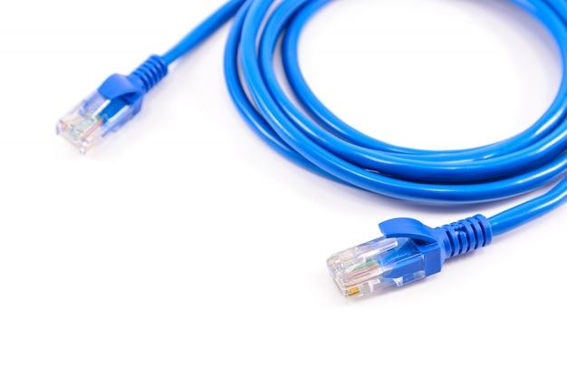 Cabo de rede azul
