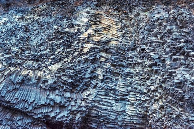 Cabo dyrholaey islândia de reynisfyal das montanhas da textura. mundo da beleza