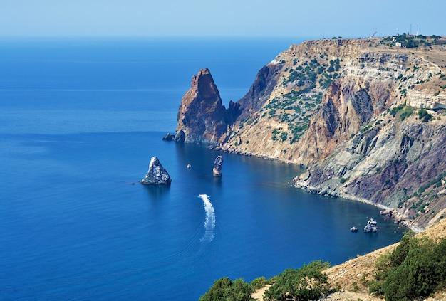 Cabo fiolent, península herakleiana da crimeia