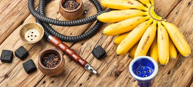 Cachimbo de água com sabor de banana