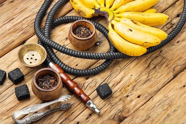 Cachimbo de água do egito com sabor de banana