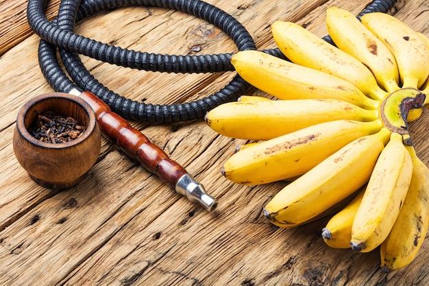 Cachimbo de água turco com sabor de banana