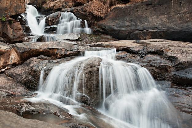 Cachoeira de athukadu na índia