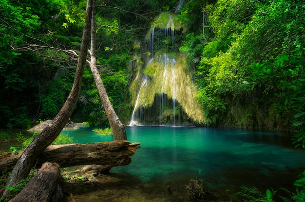 Cachoeira de pha nam yod.
