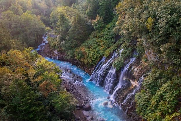 Cachoeira de shirahige em biei