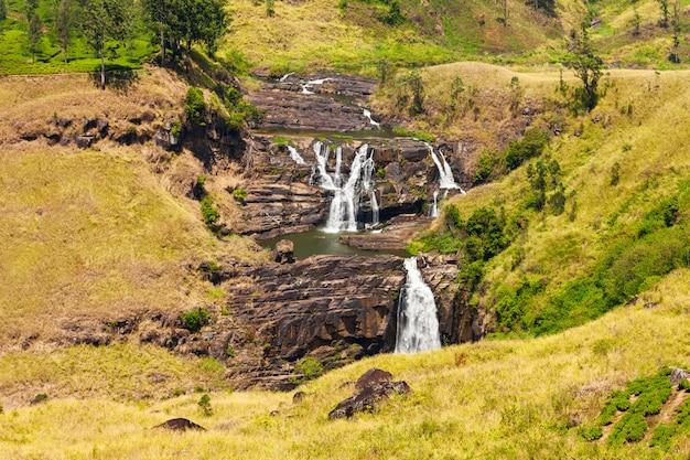 Cachoeira de st. clair, nuwara eliya