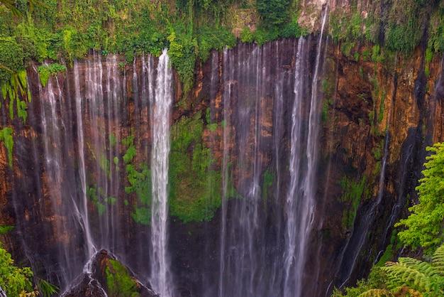 Cachoeira do desfiladeiro verde