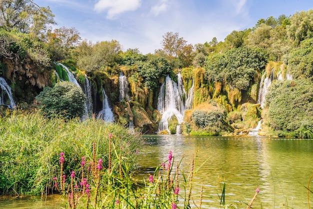 Cachoeira kravice na bósnia e herzegovina