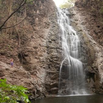 Cachoeira na costa rica