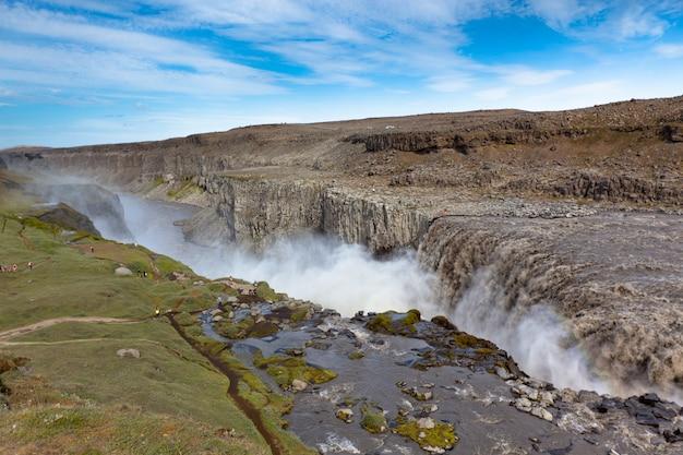 Cachoeira na islândia