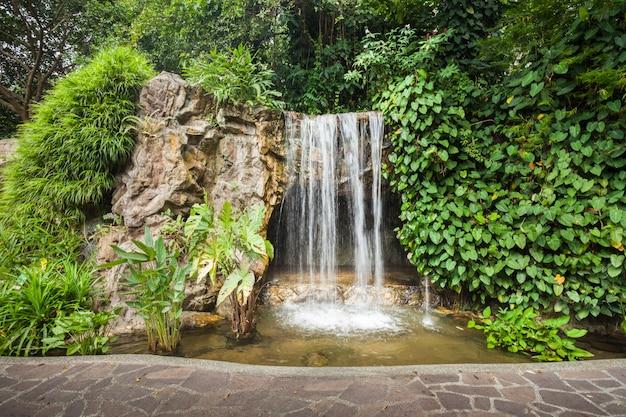 Cachoeira no parque