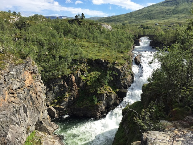 Cachoeira paisagem