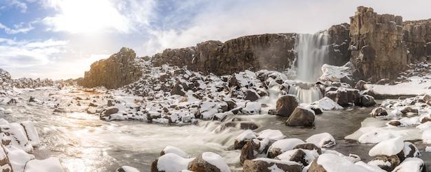Cachoeira pingvellir islândia