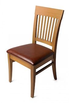 Cadeira confortável isolada no branco. fotografia de estúdio