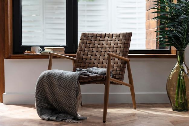 Cadeira de design de interiores para casa