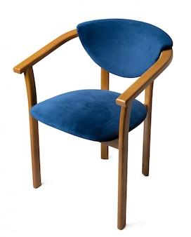 Cadeira de design moderno, isolada no fundo branco