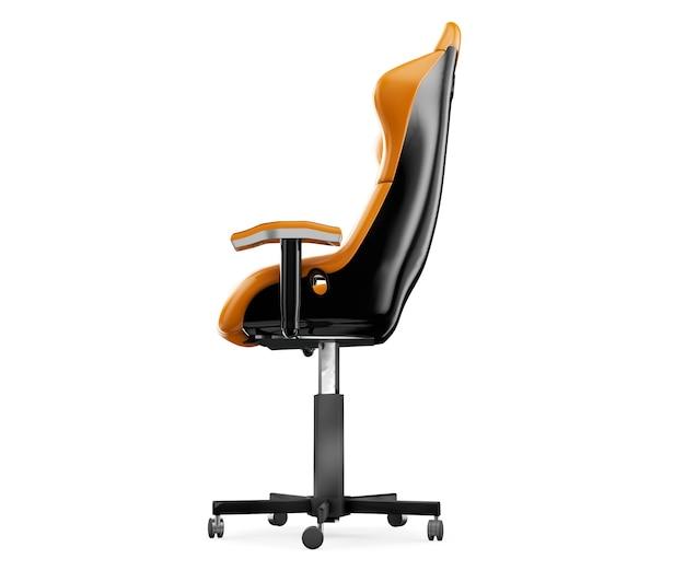 Cadeira do jogo isolada. renderização 3d