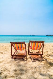 Cadeira na praia