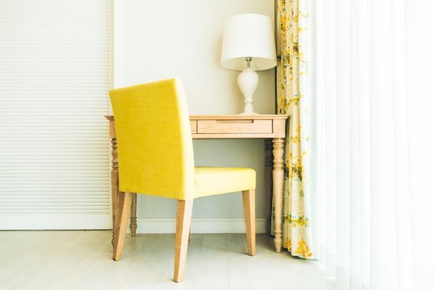 Cadeira na sala de estar